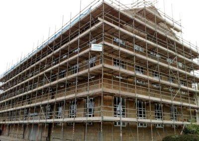 Commercial Refurbishment Scaffolding